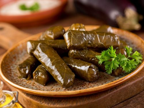 Stuffed Grape Leaves Turkish Foodie