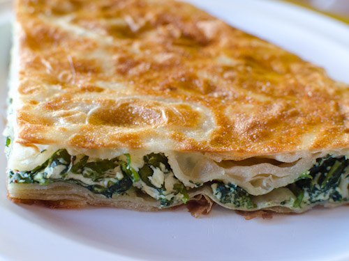 Turkish Spinach Borek