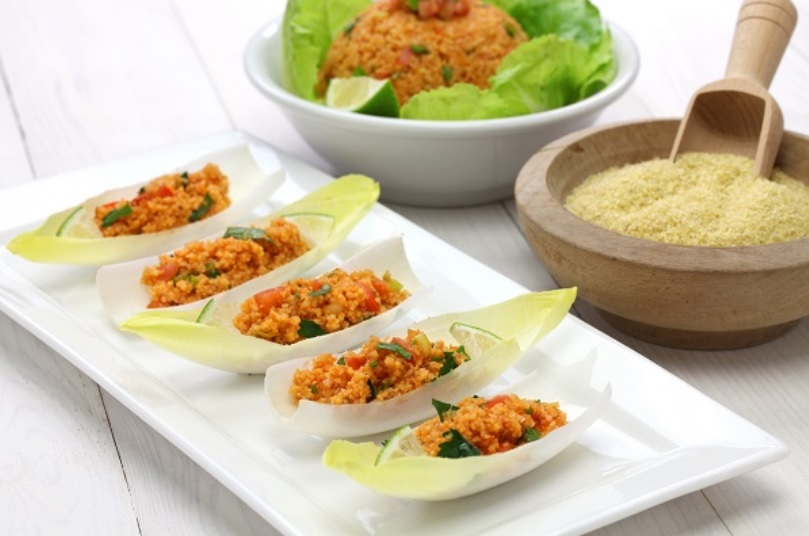 Lettuce and Bulgur Wheat Salad