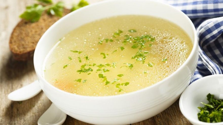 Turkish Chicken Broth Soup